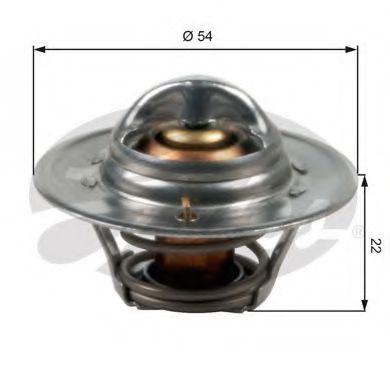 Термостат, охлаждающая жидкость  арт. TH12782G1