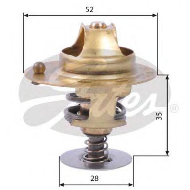 Термостат, охлаждающая жидкость  арт. TH14178G2