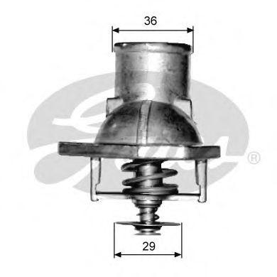Термостат, охлаждающая жидкость  арт. TH15192G1