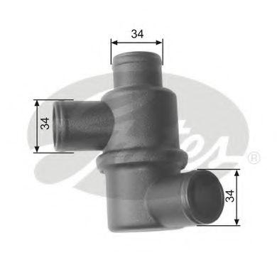 Термостат, охлаждающая жидкость GATES TH15480