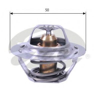 Термостат, охлаждающая жидкость GATES TH23383G1