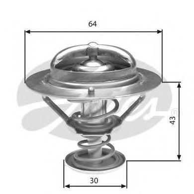 Термостат, охлаждающая жидкость  арт. TH27078G1