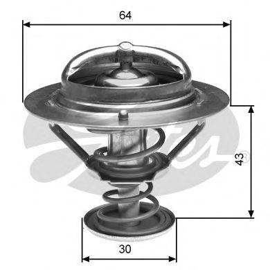 Термостат, охлаждающая жидкость  арт. TH27082G1