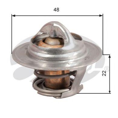 Термостат, охлаждающая жидкость  арт. TH28592G1