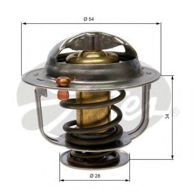 Термостат, охлаждающая жидкость  арт. TH31788G1