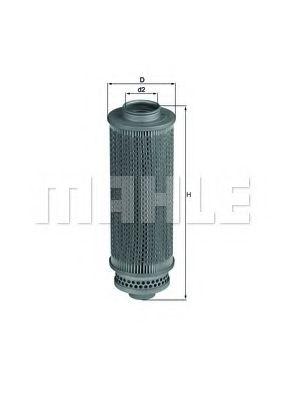 Фільтр гідравлічний КПП KNECHT HX29