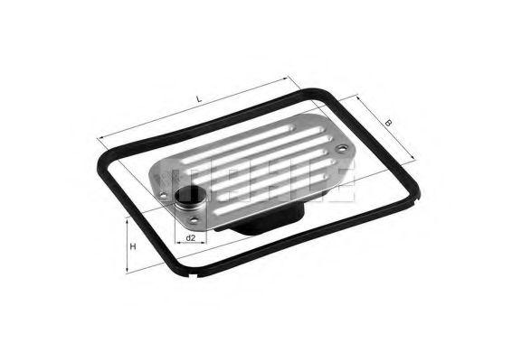 Фильтр масляный АКПП AUDI 100, A6, A8 90-02 с прокладкой (пр-во KNECHT-MAHLE)                        KNECHT HX85D