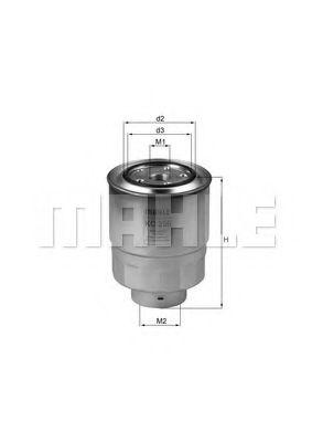 Топливный фильтр  арт. KC256D