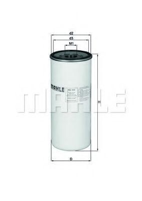 Фільтр палива KNECHT KC300