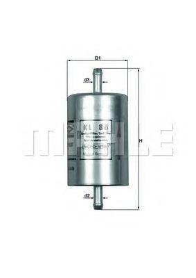 Топливный фильтр  арт. KL86