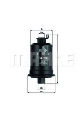 Фильтр топливный Galant 2.0GTI 89-93/Kia Clarus 1.8-2.0i 16V 96-  арт. KL129