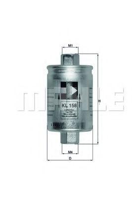 Фільтр палива  арт. KL158