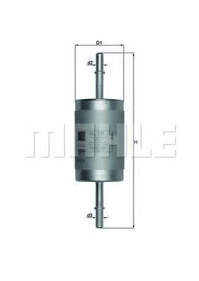 Фильтр топливный  арт. KL181