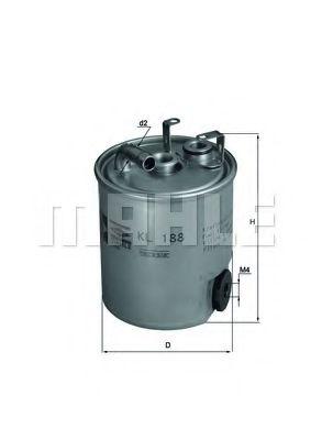 Топливный фильтр  арт. KL188