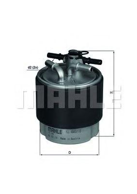 Фільтр палива KNECHT KL44018