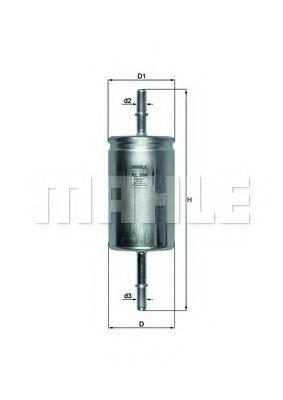 Фільтр палива  арт. KL559