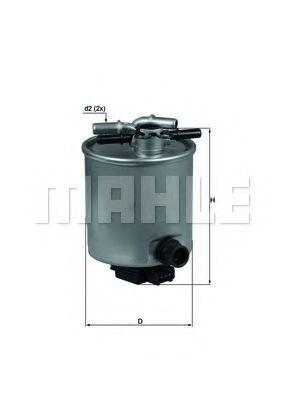 Фільтр палива KNECHT KL44014