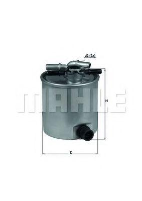 Фільтр палива KNECHT KL44015