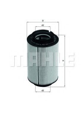 Топливный фильтр KNECHT KX178D