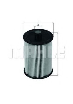 Топливный фильтр KNECHT KX217D