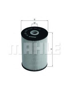 Топливный фильтр KNECHT KX228D