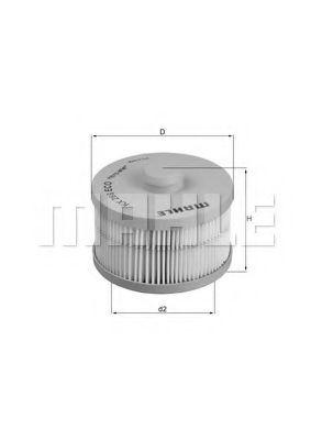 Топливный фильтр KNECHT KX266D
