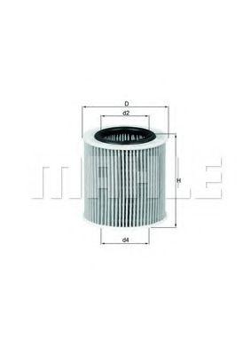 Масляный фильтр  арт. OX387D