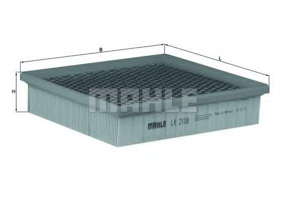 Воздушный фильтр  арт. LX2108