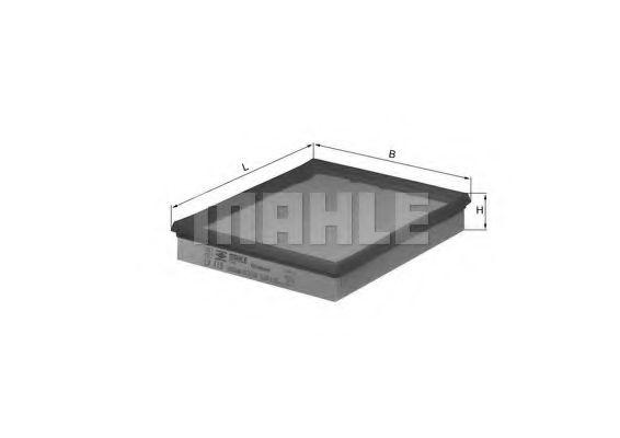 Воздушный фильтр  арт. LX119