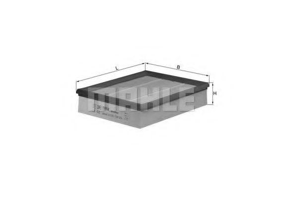 Воздушный фильтр  арт. LX422