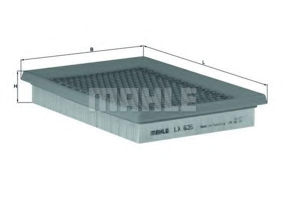 Воздушный фильтр  арт. LX625