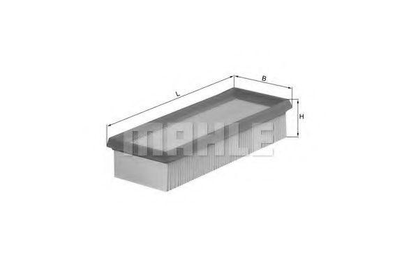 Воздушный фильтр  арт. LX580