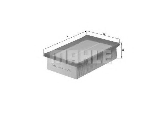 Воздушный фильтр  арт. LX618