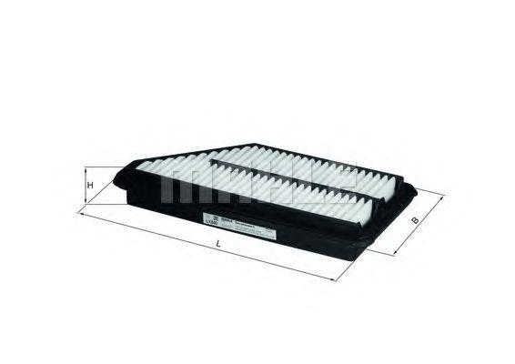 Воздушный фильтр  арт. LX840