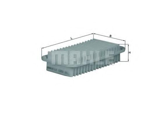 Фильтр воздушный (пр-во Knecht-Mahle)                                                                WIXFILTERS арт. LX1002