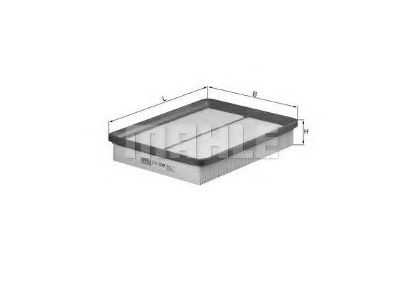 Фильтр воздушный (пр-во Knecht-Mahle)                                                                 арт. LX1039