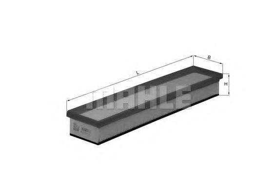 Воздушный фильтр  арт. LX1604