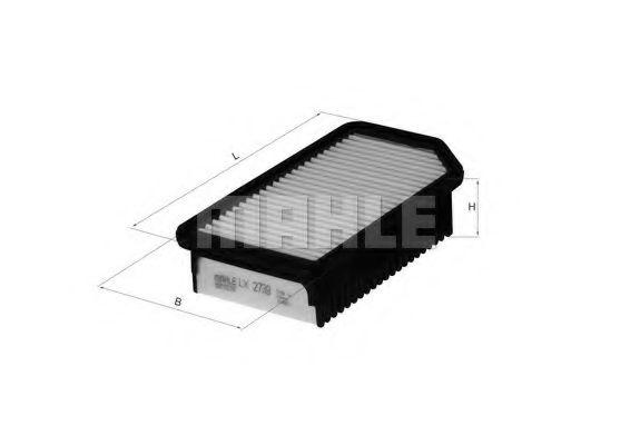 Воздушный фильтр  арт. LX2739