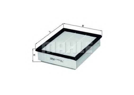 Воздушный фильтр  арт. LX2748