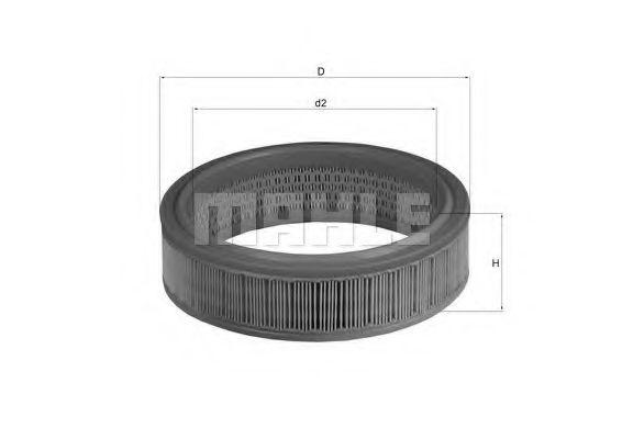 Фильтры воздуха салона автомобиля Воздушный фильтр WIX FILTERS арт. LX158