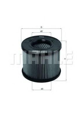 Воздушный фильтр  арт. LX2283
