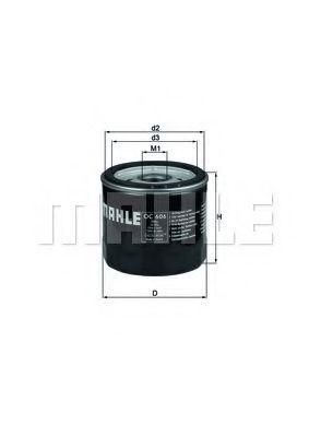 =OC235 Фильтр масла FORD FIESTA/FOCUS/MONDEO 1.25-2.0 07/90-; VOLVO C30/S40/V50 1.6 AMULET KNECHT OC606