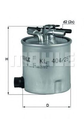 KL404/25     (KNECHT)   !!заміна для KL404/17  арт. KL40425