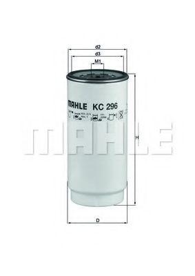 Фільтр палива KNECHT KC296D