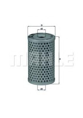 Фильтр гидроусилителя руля Фильтр масляный (смен.элем.) рулевое упр. DAF, MAN, MB, RVI, VOLVO (TRUCK)  KNECHT арт. HX15
