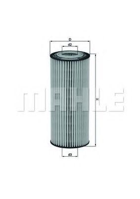 Фільтр гідравлічний КПП KNECHT HX77