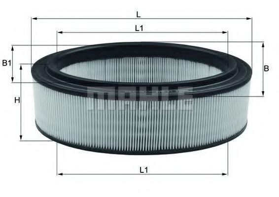 Фильтр воздушный DACIA, RENAULT (пр-во Mahle)                                                         арт. LX2844