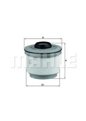 Топливный фильтр KNECHT KX268D