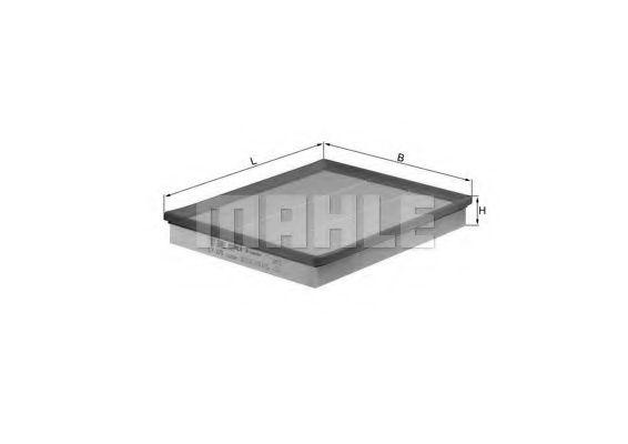 Фильтр воздушный Master/Movano 1.9/2.2/2.5dCi/2.5d/2.8dTI 01-03  арт. LX876