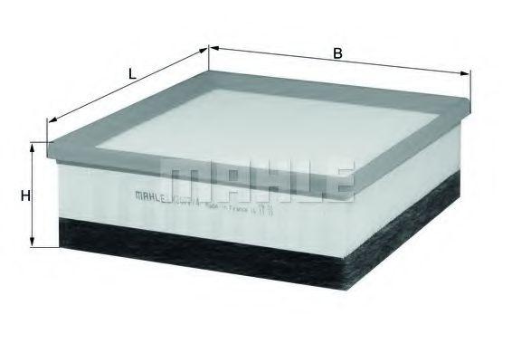Воздушный фильтр  арт. LX20774